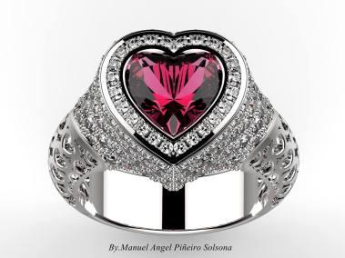 projekt pierścionka jewelry