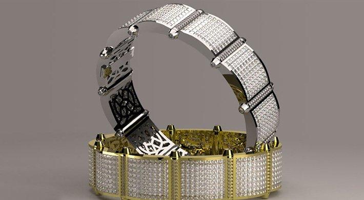 projektowanie biżuterii bransoletka jewelry