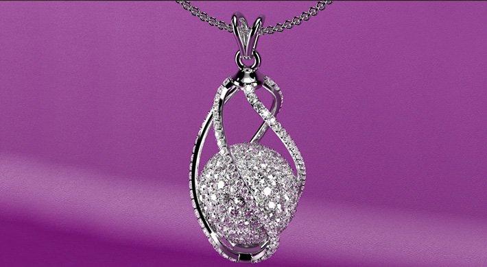 projektowanie biżuterii naszyjnik