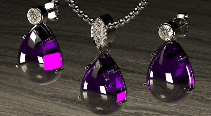 projektowanie biżuterii naszyjnik jewelry
