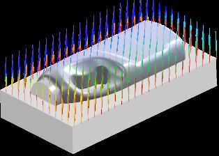 ZW3D CAD/CAM - obróbka zgrubna frezowanie przez zagłębianie (PLUNGE)