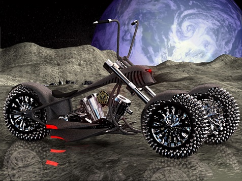 zw3d projekt motocykl