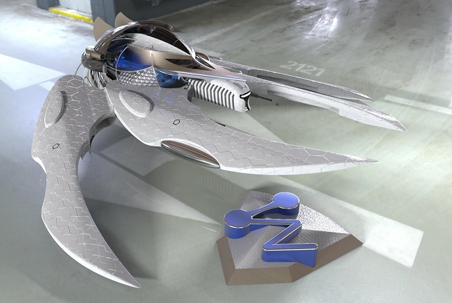 zw3d superheroe pojazd 1