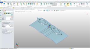 Polecenie zawiń na ścianach w ZW3D CAD/CAM