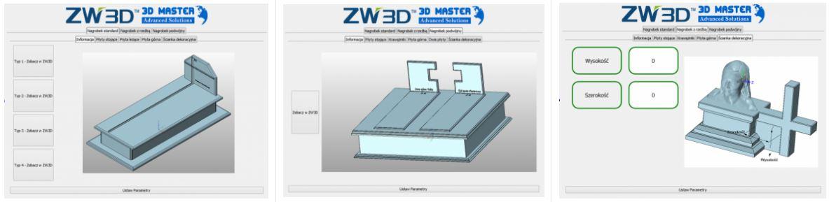 Tworzenie pomników w ZW3D CAD/CAM
