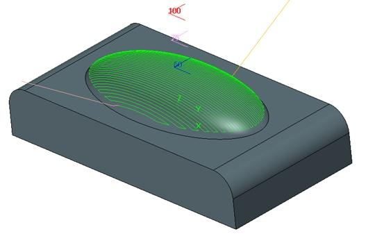 Frezowanie obiektu w 5 osiach - ZW3D CAD/CAM