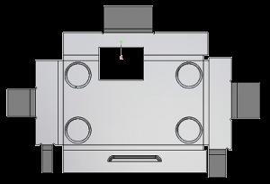 Rozłożona blacha w ZW3D CAD/CAM