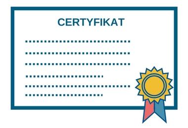 Certyfikat szkoleniowy z programowania maszyn