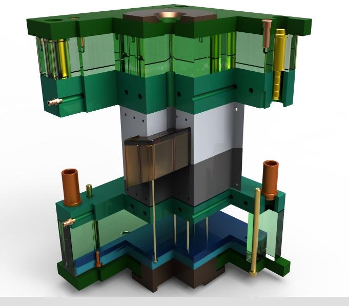 Forma wtryskowa zaprojektowana w ZW3D