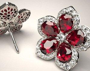 projektowanie biżuterii kolczyki