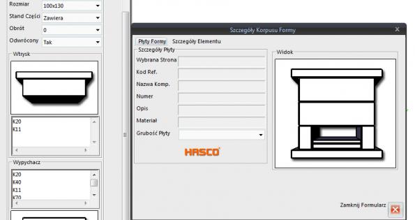 ZW3D CAD/CAM, normalia do form