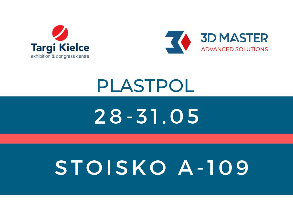 3D MASTER na targach PLASTPOL 2019 w Kielcach