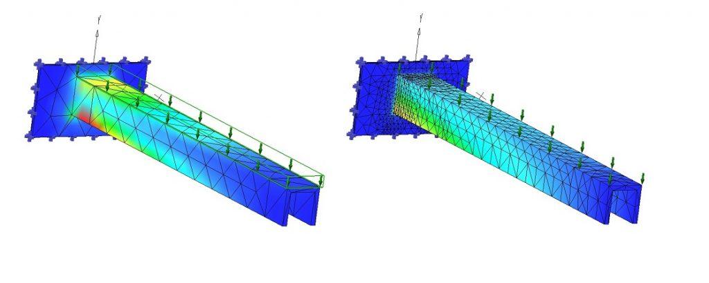 SimWise analizowanie wytrzymałości materiału