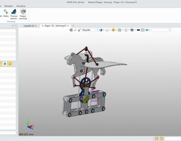 ZW3D Standard, moduł do tworzenia złożeń i animacji