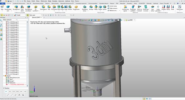 Wytłoczenie logo w ZW3D CAD/CAM