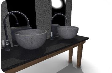 ZW3D CAD/CAM - projekt zlewu z kamienia