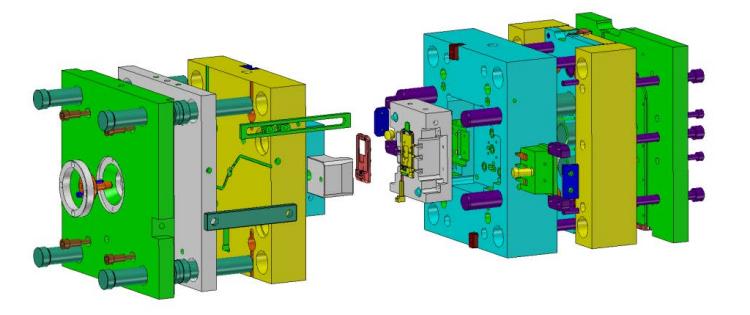 Złożenie formy wtryskowej w ZW3D CAD/CAM