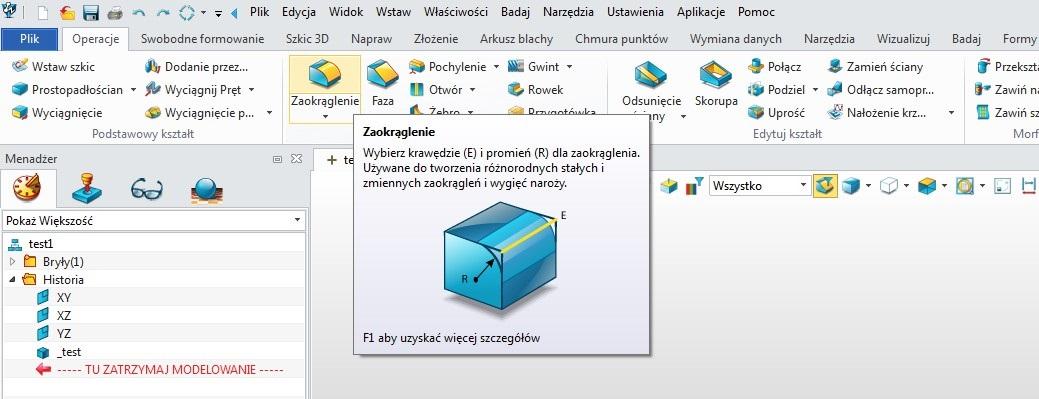 Interfejs ZW3D