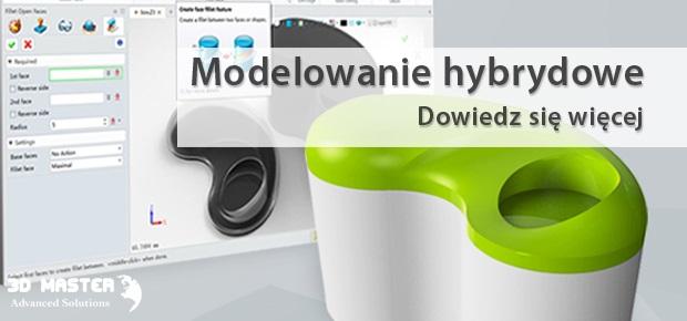 Modelowanie hybrydowe CAD