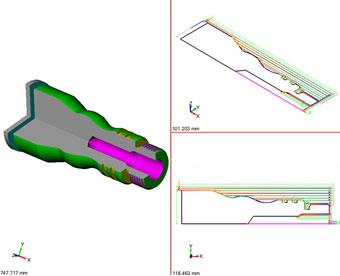 ZW3D CAD/CAM toczenie