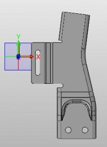 Rozkładanie blachy na modelu 3D