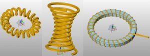 Projektowanie 3D cewek w ZW3D CAD/CAM
