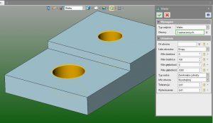 Obróbka helikalna nad otworem w ZW3D CAD/CAM