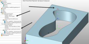 Operacja pod wiercenia w ZW3D CAD/CAM