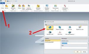Menadżer roli, włączanie w ZW3D CAD/CAM