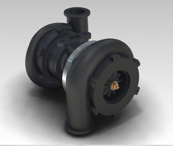 Projekt 3D pompy hydraulicznej w ZW3D