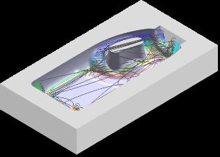ZW3D CAD/CAM - obróbka wykańczająca9