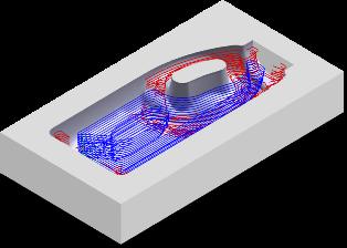 ZW3D CAD/CAM - obróbka zgrubna resztek