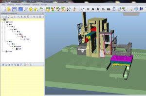 Symulacja maszyny CNC