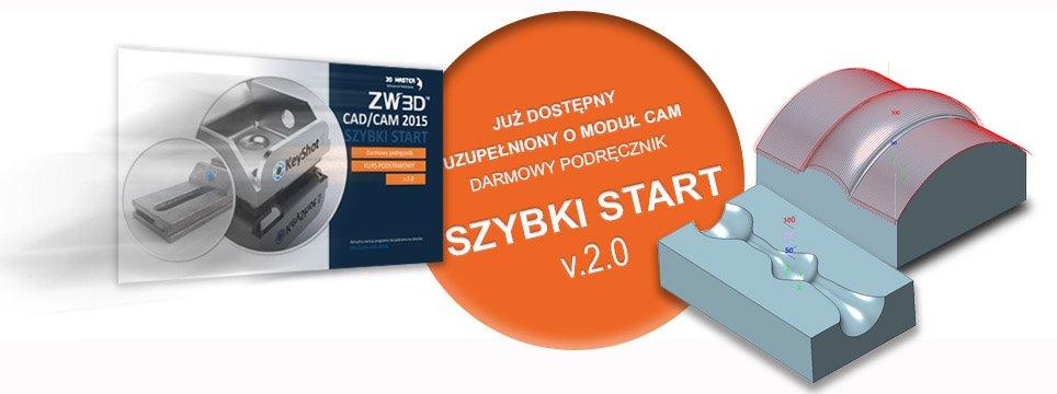 E-book samouczek Szybki start w ZW3D CAD/CAM