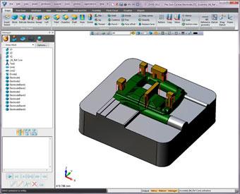 Elektrody w ZW3D CAD/CAM
