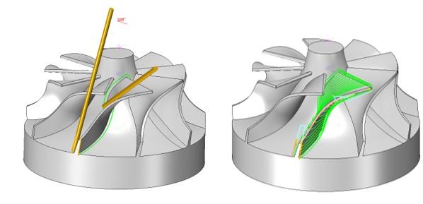 Program CAM - frezowanie dla 5 osi machining