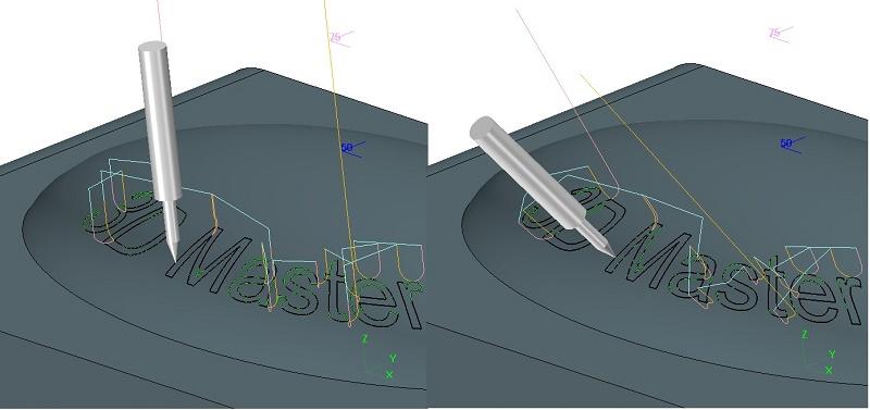 Grawerowanie w 5 osiach w ZW3D CAD/CAM