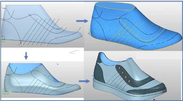 Modelowanie 3D kopyta w ZW3D CAD/CAM