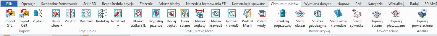 Narzędzia do projektowania w ZW3D