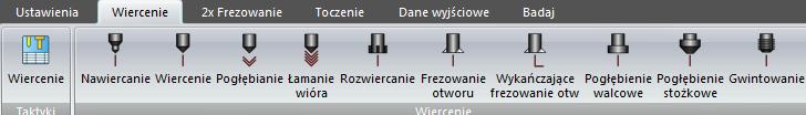 ZW3D CAD/CAM Obróbka Otworów