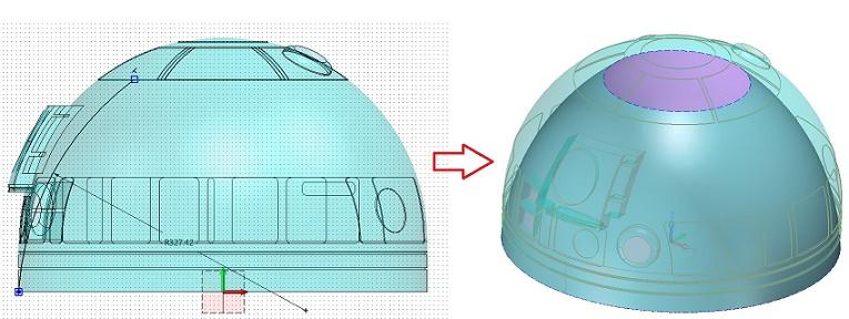 Program CAM - obróbka dla 5 osi w ZW3D CAD/CAM