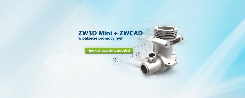 ZW3D oraz ZWCAD - pakiet promocyjny