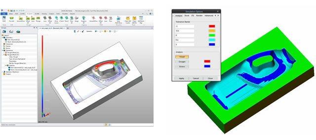 Narzędzia oraz operacje referencyjne w ZW3D CAD/CAM