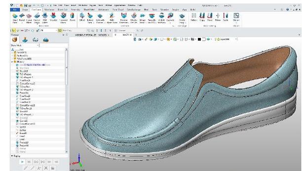 projektowanie obuwia w ZW3D
