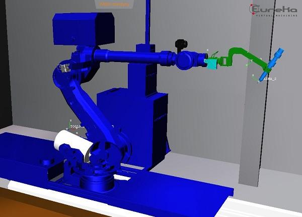 sterowanie robotami CNC