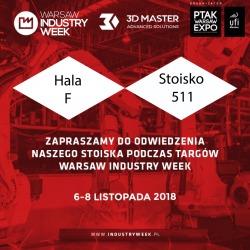 3D Master na na targach Warsaw Industry Week