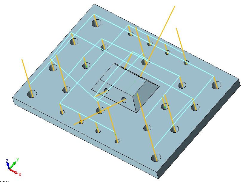 Taktyka otworów do 5 osi w ZW3D CAD/CAM