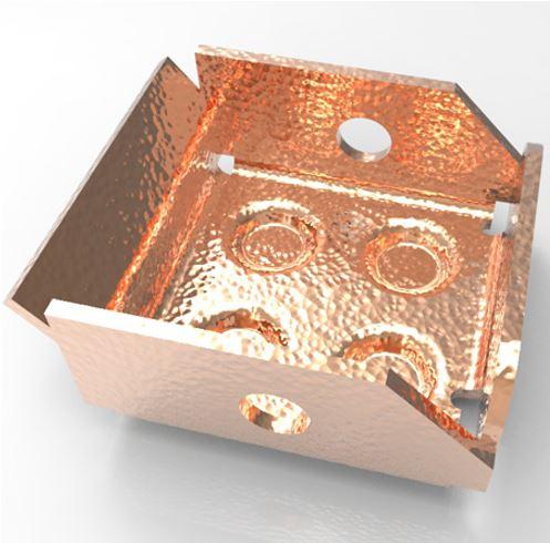 Arkusze blach, złożenia i konstrukcje spawane w ZW3D CAD/CAM