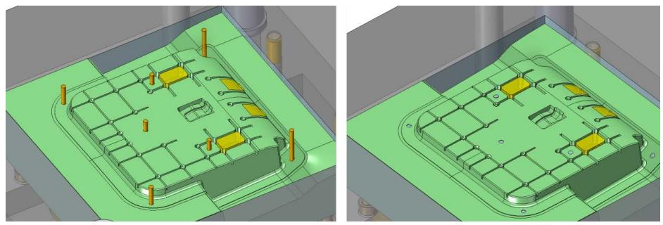Wypychacze w ZW3D CAD/CAM