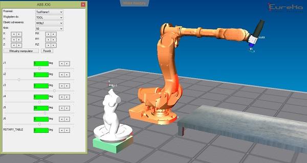 sterowanie robotami